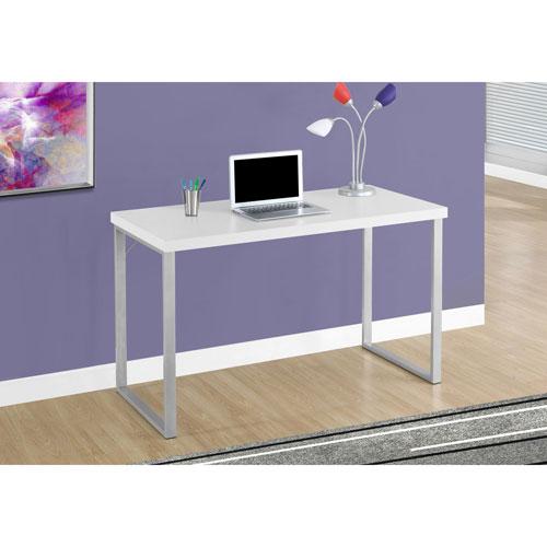 contemporary computer desk white desks workstations best buy canada. Black Bedroom Furniture Sets. Home Design Ideas