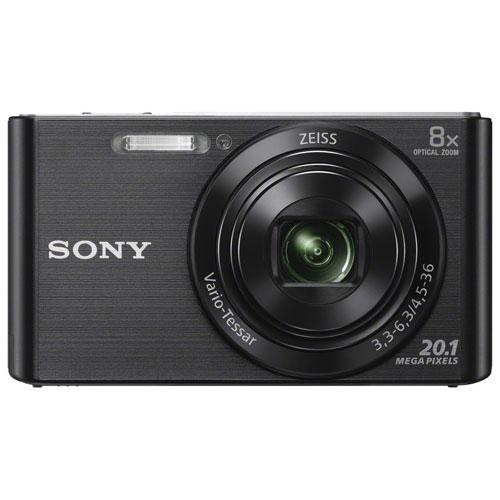 Appareil photo numérique Cyber-shot W830 de 20,1 Mpx avec zoom optique 8x de Sony - Noir