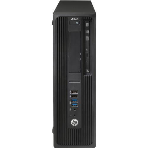 HP Z240 Small Form Factor Workstation - 1 x Processors Supported - 1 x Intel Core i7 i7-6700 Quad-core (4 Core) 3.40 GHz -