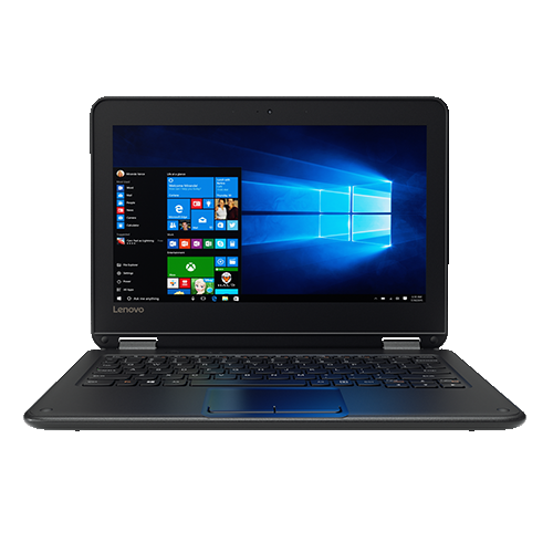"Lenovo N23 11.6"" Laptop Black(Intel Celeron / 64 GB SSD / 4 GB DDR3 / Windows 10)"