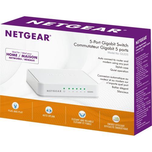 Netgear 5-Port Gigabit Ethernet Switch