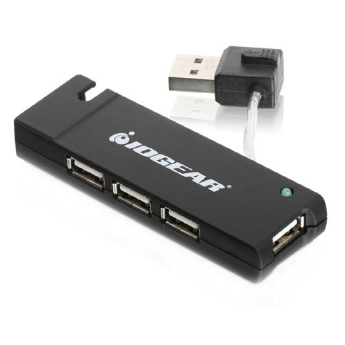 IOGEAR 4-port Hi-Speed USB 2.0 Hub