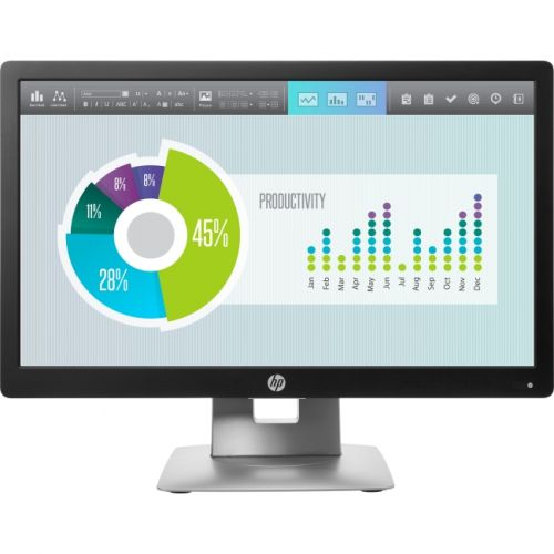 "HP Business E202 20"" LED LCD Monitor - 16:9 - 5 ms"