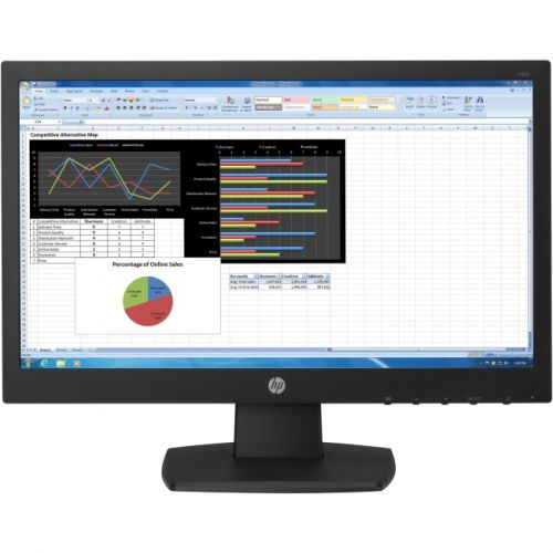 "HP Business V223 21.5"" LED LCD Monitor - 16:9 - 5 ms"