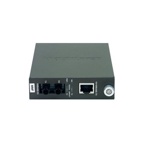 TRENDnet TFC-110 100Base-TX to 100Base-FX Multi Mode ST Fiber Converter