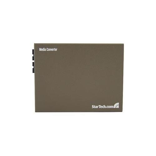 StarTech 1000 Mbps Gigabit Single-Mode Fiber Ethernet Media Converter SC 15km
