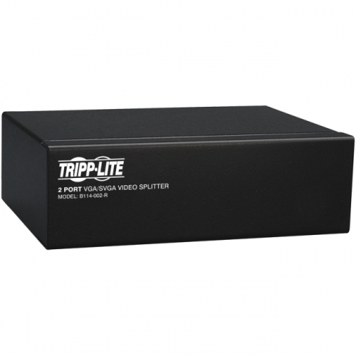 Tripp Lite 2-Port VGA Splitter with Signal Booster