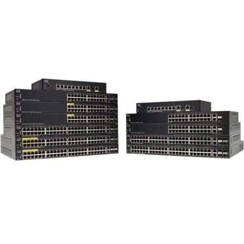 Cisco SG350-10MP 10-Port Gigabit PoE Managed Switch