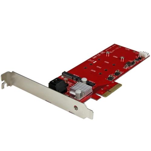 M.2 RAID CONTROLLER CARD + 2X SATA PORTS
