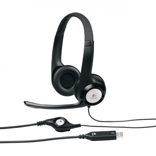 LOGITECH HEADSET H390 USB CLEARCHAT