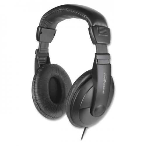 Compucessory Cushion Stereo Headphones w/Vol Cntrl