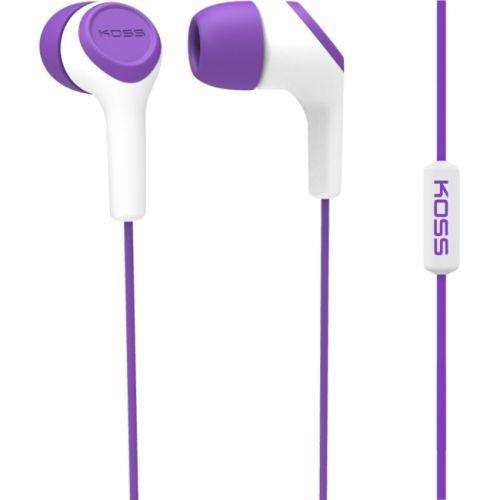 InEar Bud with Mic Purple