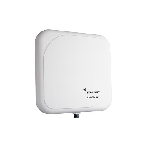 TP-LINK TL-ANT2414A 2.4GHz 14dBi Outdoor Directional Antenna, RP-SMA Male connector, 1m/3ft cable