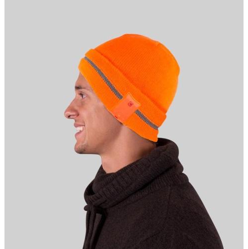 Caseco Reflective Bluetooth Toque - Universal Compatibility - Orange