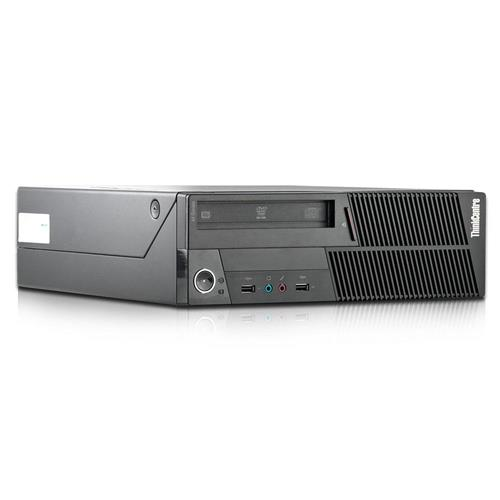 Lenovo M90 Desktop PC, i5 650 3.2G CPU, 6GB RAM, 250GB HDD, DVD, Windows 10 Professional, Refurbished
