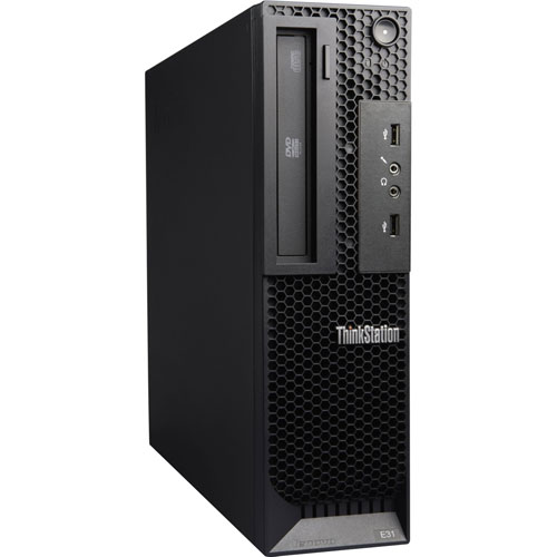 Lenovo E31 French Pro PC, I5 3450 3.1G CPU, 8GB RAM, 500GB HDD, DVDRW, Windows 10 Pro French, Refurbished