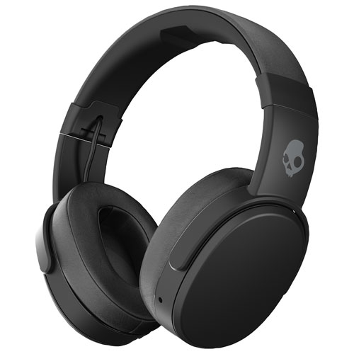 36d4798fb05728 Skullcandy Crusher Over-Ear Sound Isolating Wireless Headphones with Mic -  Black | Best Buy Canada