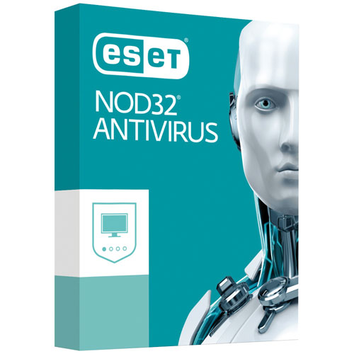 ESET NOD32 Antivirus 2017 (PC) - 1 User - 1 Year