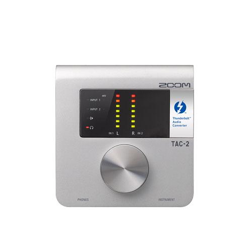 Zoom TAC-2 Thunderbolt Audio Interface - English