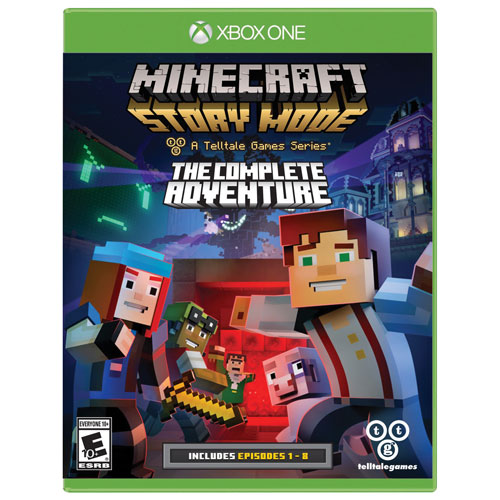 Minecraft: Story Mode - The Complete Adventure (Xbox One ...