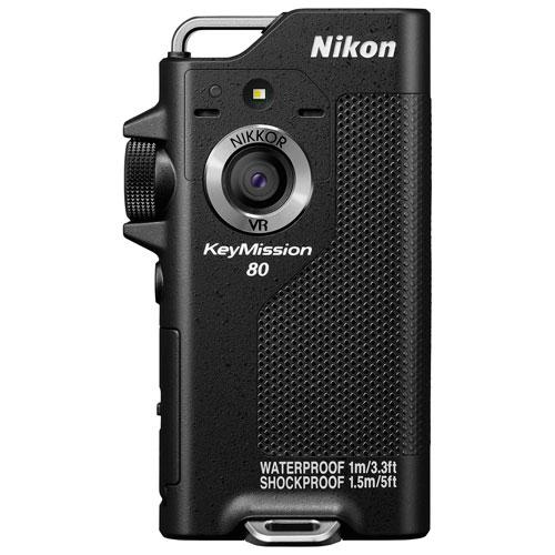 Nikon KeyMission 80 Waterproof HD Sports & Helmet Camera