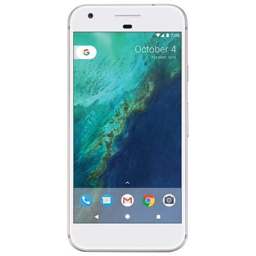 Bell Pixel, Phone by Google 32GB - Very Silver - 2 Year Agreement