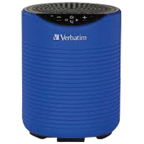 Enceinte Bluetooth sans fil hydrofuge Mini de Verbatim - Bleu