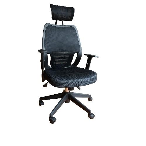 homcom high back ergonomic executive mesh office chair swivel computer pc desk chair seat