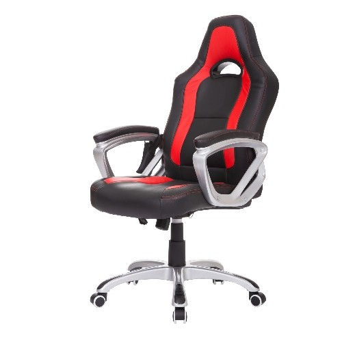 HOMCOM Racecar Styled Heated High Back Executive Massage Office - Leather computer chairs