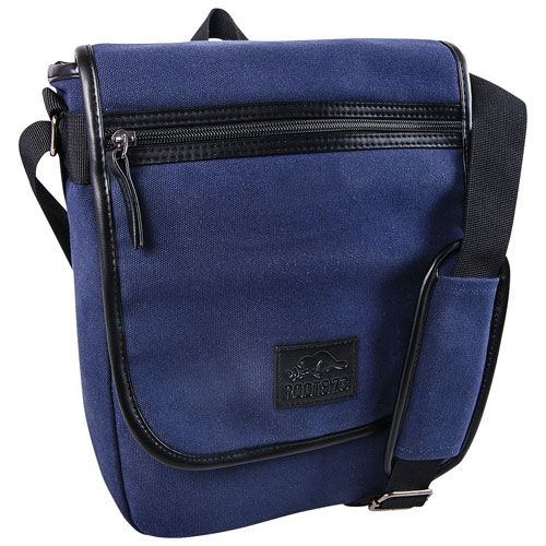 "Roots 73 Canvas Collection 12"" Laptop Messenger Bag - Navy"
