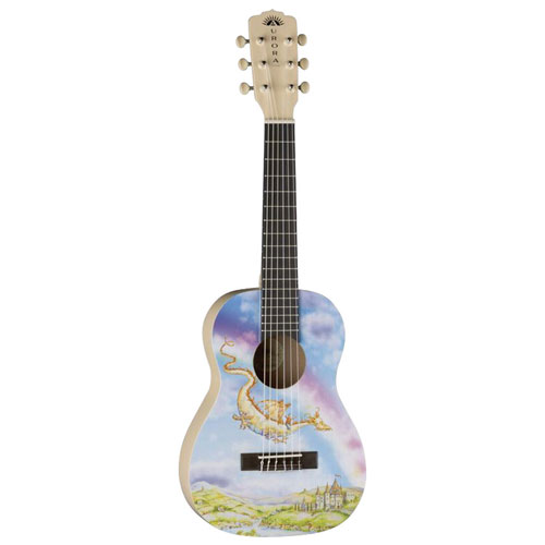 "Luna Guitars Aurora 21.5"" Acoustic Guitar - Dragon"