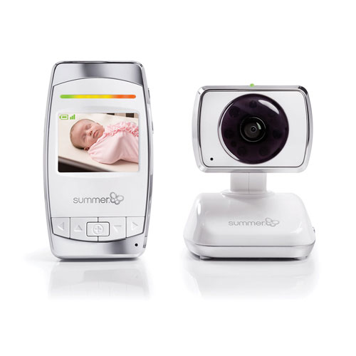 Interphone surveillance/écran 2,5 po (zoom/rot./inclin./comm. bidir.) Baby Secure de Summer Infant