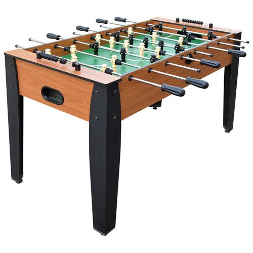 Hathaway 54 Inch Foosball Table   Woodtone/Black : Foosball Tables   Best  Buy Canada
