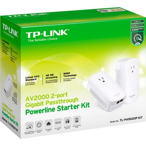 AV2000 Gigabit Pwrline Kit