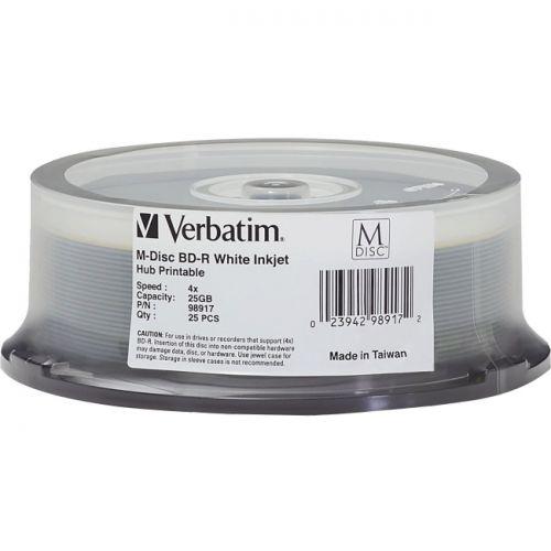 Verbatim Blu-ray Recordable Media - BD-R - 4x - 25GB - 25 Pack Spindle