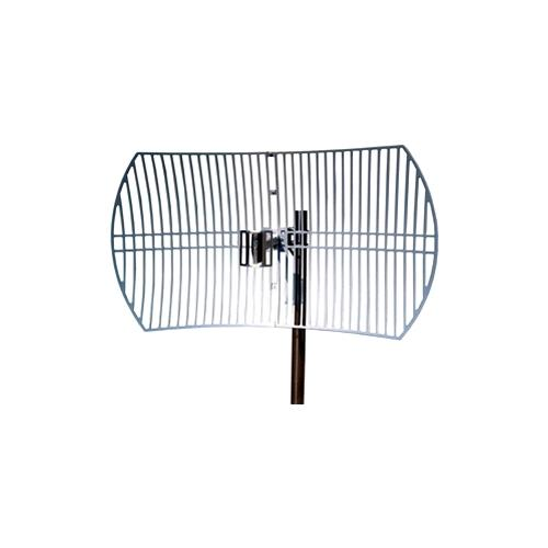 TP-LINK TL-ANT2424B 2.4GHz 24dBi Directional Grid Parabolic Antenna, N Female connector, weather resistant