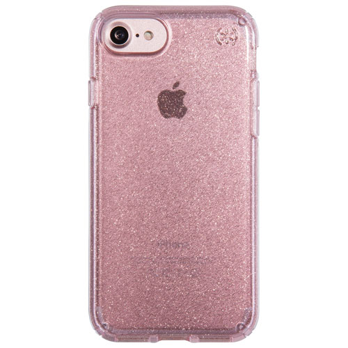 Speck 2.0 Presidio Glitter iPhone 7/8 Fitted Hard Shell Case - Pink