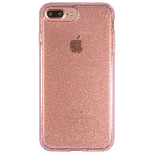 Speck 2.0 Presidio Glitter iPhone 7 Plus Fitted Hard Shell Case - Rose Gold