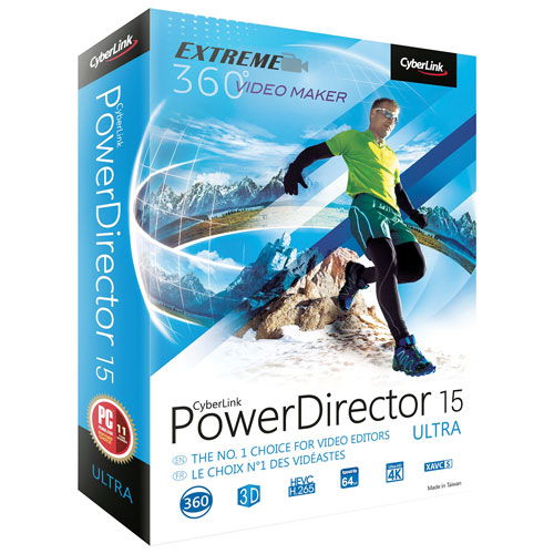 CyberLink Power Director 15 Ultra (PC)