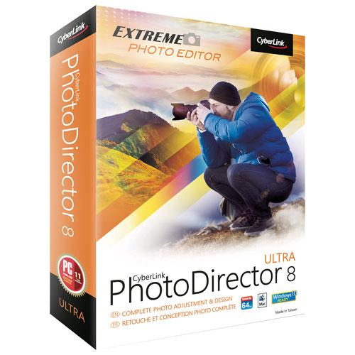 CyberLink PhotoDirector 8 Ultra (PC)