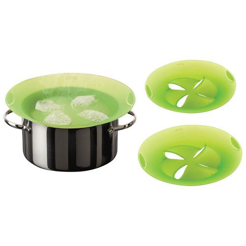 Lekue Non-Spill Lid - Set of 2 - Green