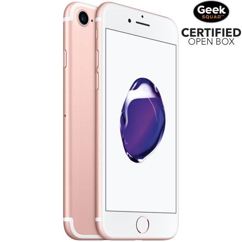 Apple iPhone 7 128GB Smartphone - Rose Gold - Carrier SIM Locked - Open Box