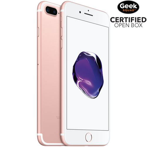 Apple iPhone 7 Plus 128GB Smartphone - Rose Gold - Carrier SIM Locked - Open Box