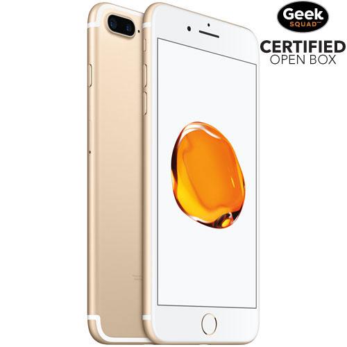 iPhone 7 Plus 128 Go d'Apple - Noir - Carte SIM verrouillée fournisseur - Boîte ouverte