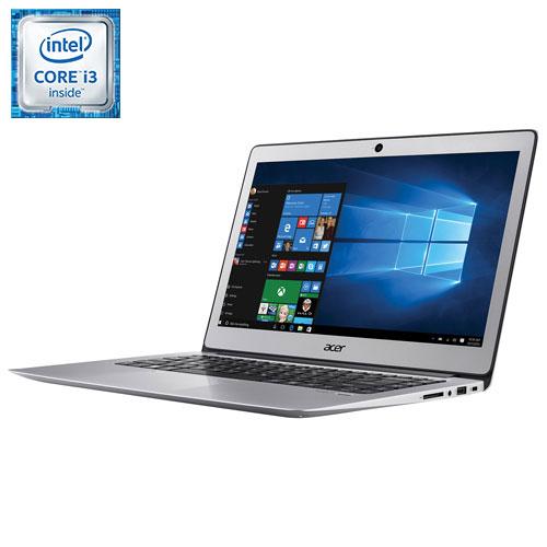 "Acer Swift 3 14"" Laptop - Silver (Intel i3-6100U/128GB SSD/8GB RAM/Windows 10)"