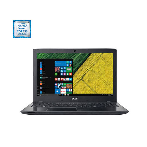 Portable de 15,6 po Aspire E d'Acer - Noir (i5-7200U d'Intel/DD 1 To/RAM 8 Go/Windows 10)