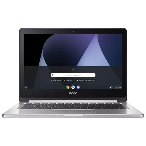 Chromebook R tactile 13,3 po d'Acer - Blanc (MediaTek CorePilot M8173C/eMMC 32 Go/RAM 4 Go/Chrome)