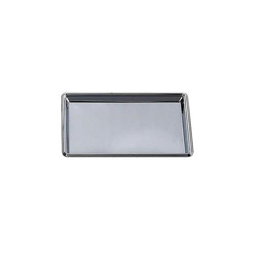 Elegance Nickel Plated Stainless Steel Rectangular Tray