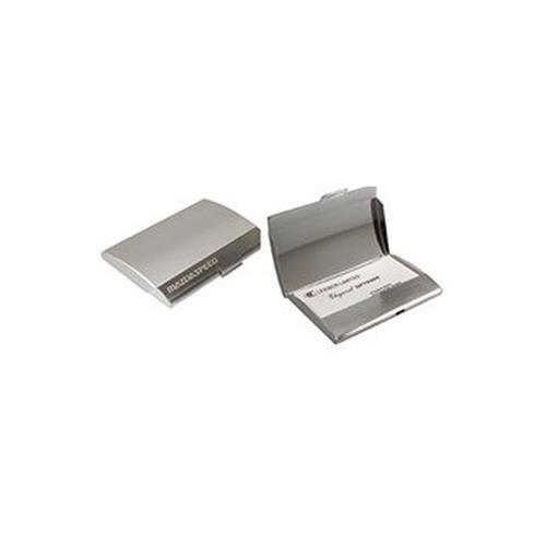 Elegance Curve Shape Business Card Holder Case-2-Tone