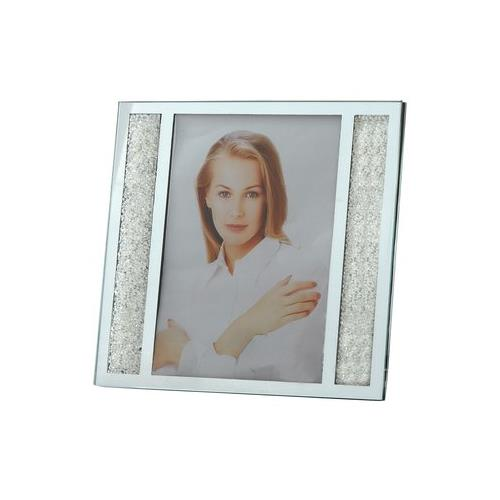 """Elegance Starlet Crystal Filled Photo Picture Frame 5""""x 7"""""""